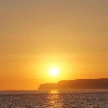 Sunset over Gozo