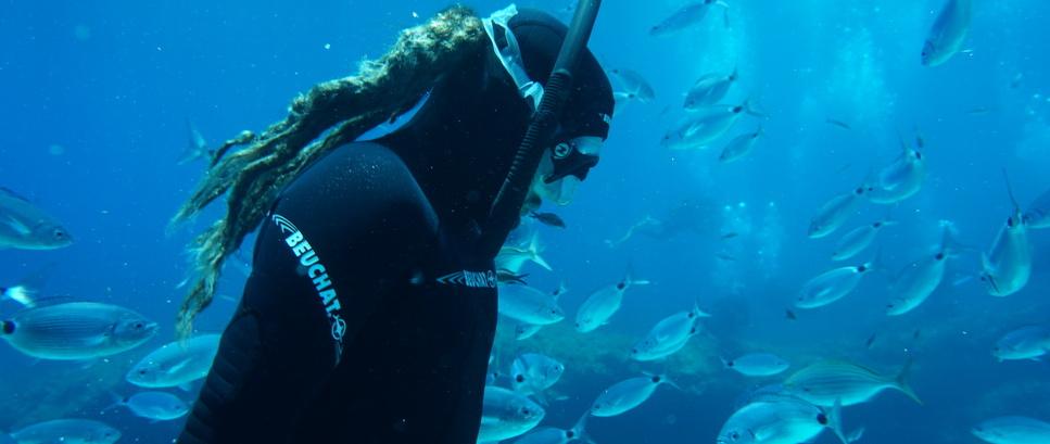 Freediving near Gozo