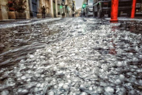 Flooding in Sliema