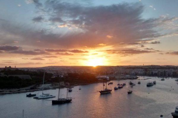 Manoel Island sunset